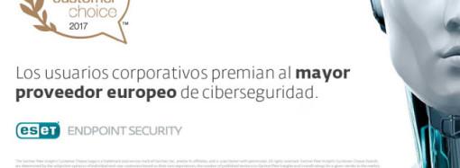 ESET fue elegida por clientes como plataforma de protección de puntos finales en Gartner Peer Insights