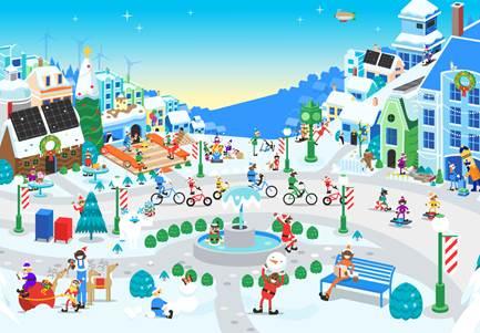 ¡Sigue el recorrido de Santa Claus con Santa Tracker!