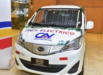 Cervecería Nacional, Truckslogic y Banistmo presentan el primer carro eléctrico dedicado al transporte de carga en Panamá