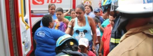 Miviot brinda asistencia social a damnificados de edificio Santa Ana