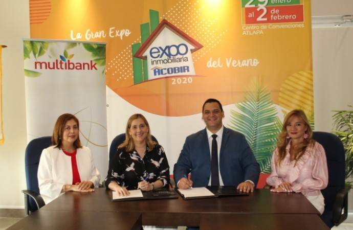 Multibank estará presente en la Expo Inmobiliaria Acobir 2020