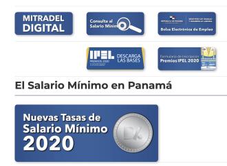 Usuarios podrán hacer consultas al Salario Mínimo en portal del Mitradel