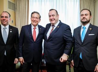 Cortizo Cohen aboga por combate a la corrupción, lucha contra la pobreza y fortalecer la unión aduanera en Centro América