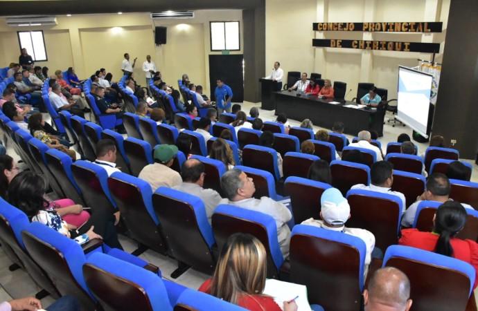 Autoridades locales de Chiriquí y Veraguas reciben inducción sobre el Plan Colmena