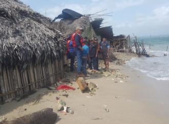 Miviot ofrece repuesta a familias de Guna Yala afectadas por oleajes