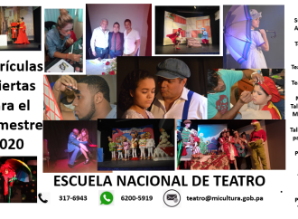 Escuela Nacional de Teatro anuncia período de matrícula en Arte Teatral