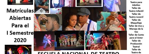 Escuela Nacional de Teatro anuncia período de matrícula para este en Arte Teatral