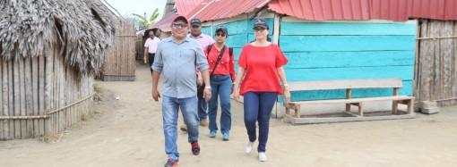 Ministra del MIDES anuncia que los cuatros corregimientos de la Comarca Guna Yala serán intervenidos por el Plan Colmena