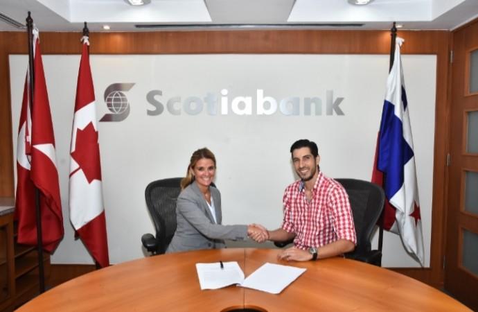 Scotiabank da la bienvenida a Jaime Penedo como embajador de su marca