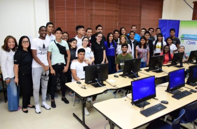 137 estudiantes del Centro Supérate JUPA reciben aporte tecnológico de DELL