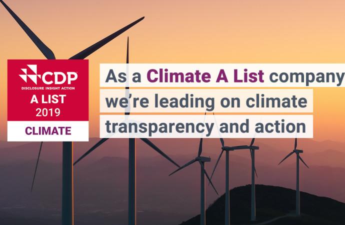 Tetra Pak obtiene doble «A» en lista CDP por liderar los esfuerzos contra el cambio climático y proteger los bosques