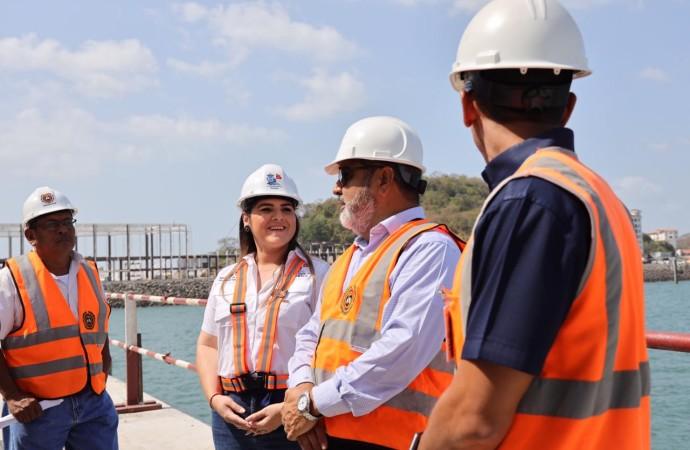 La Contraloría General de la República muestra complacencia durante inspección realizada a la Terminal de Cruceros de Panamá