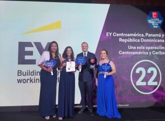 Firma EY se consolida como una de las mejores empresas para laborar