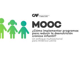 CAF lanza curso gratuito para combatir la desnutrición infantil crónica en América Latina