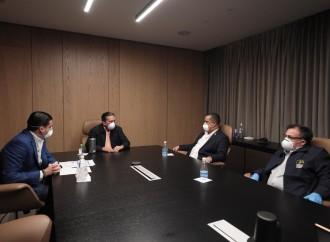 Cortizo Cohen se reúne con presidentes del Judicial y del Legislativo para trabajar de forma armónica contra el COVID-19