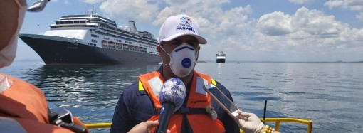 AMP supervisa operación de Ayuda Humanitaria al crucero Zaandam