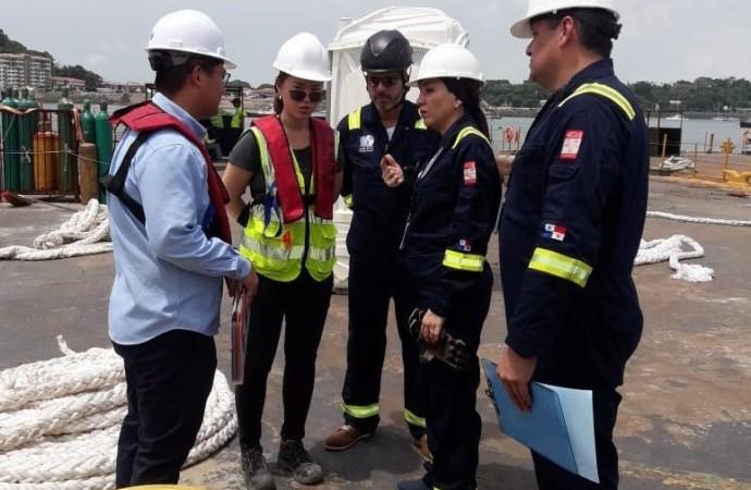 Autoridad Marítima de Panamá adopta medidas de prevención en sus puertos por el COVID-19