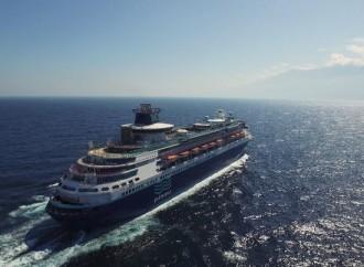 CEO de Pullmantur Cruceros, Richard J. Vogel, expresa su agradecimiento a Panamá