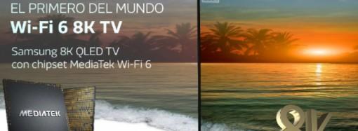 MediaTek y Samsung presentan el primer televisor Wi-Fi 6 8K del mundo