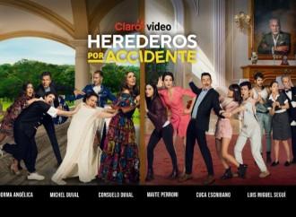 """Claro video estrena la serie """"Herederos por Accidente"""""""