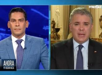 El presidente de Colombia habló con Ismael Cala sobre Covid-19 y Venezuela