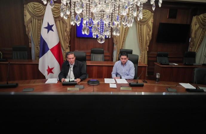 Presidente Cortizo Cohen pide a los servidores públicos redoblar esfuerzos en la 'guerra' contra el nuevo coronavirus