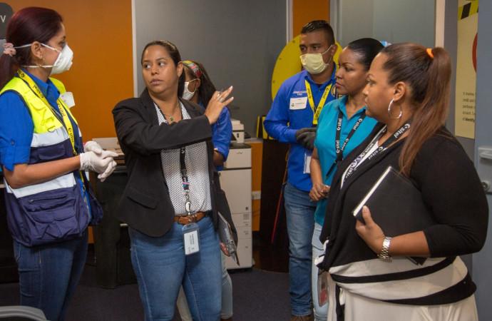 Mitradel verifica cumplimiento de las medidas sanitarias en sitios de trabajo