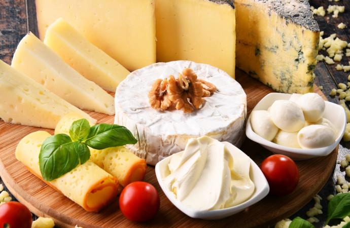 Porción diaria de queso es fuente de proteína y calcio