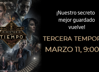 TVE Internacional anuncia el regreso de la multipremiada serie ¡EL MINISTERIO DEL TIEMPO!
