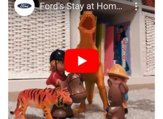 Ford crea un centro de entretenimiento online con actividades para toda la familia