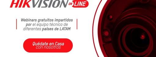 Hikvision arranca una serie de webinars para impulsar sus nuevas tecnologías a nivel Latinoamérica