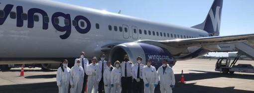 Copa Airlines y Wingo operan vuelo humanitario para llevar a ciudadanos chilenos a regresar a su país