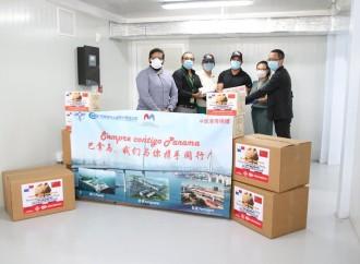 Consorcio Panamá Cuarto Puente dona 18,000 mascarillas y 6,000 guantes al nuevo Hospital Integrado Panamá Solidario