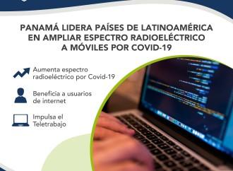 Panamá lidera países de Latinoamérica en ampliar espectro radioeléctrico por COVID-19