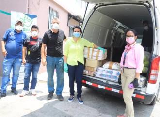 El MIDES entrega alimentos y artículos de limpieza a 15 Albergues y Casas Hogares que brindan protección a 629 adultos mayores, niños y niñas