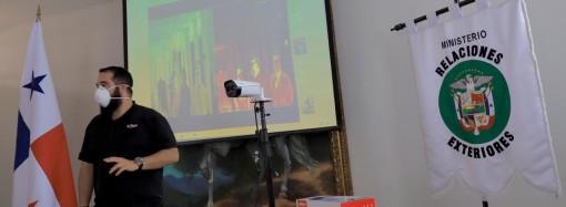 Dahua Technology Panamá dona la segunda cámara térmica para monitoreo de temperatura corporal al Gobierno Nacional
