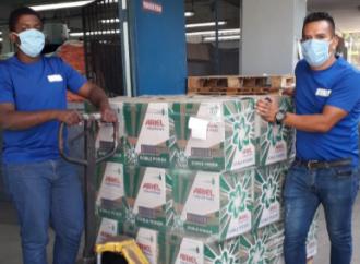 P&G donará 145mil lavadas de detergente Ariel a hospitales y al Programa ¨Panamá Solidario¨