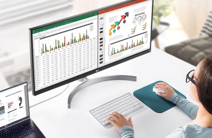 Eleva tu productividad en casa con los monitores UltraWide