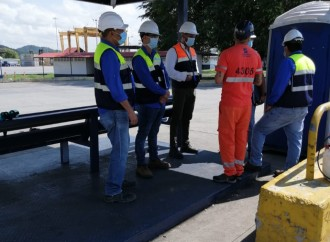 Mitradel revisa cumplimiento de medidas sanitarias y seguridad en puertos