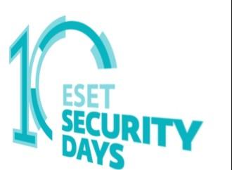 Llega la décima edición de los ESET Security Days