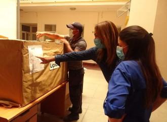 Upick dona material de protección al Hospital Santo Tomás