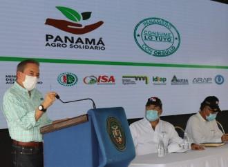 Ejecutivo anuncia Plan Agro Solidario para garantizar seguridad alimentaria