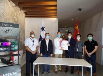 Hikvision tiende la mano en la lucha contra la emergencia sanitaria con un donativo de cámaras térmicas a la Alcaldía de Panamá y a la Embajada China