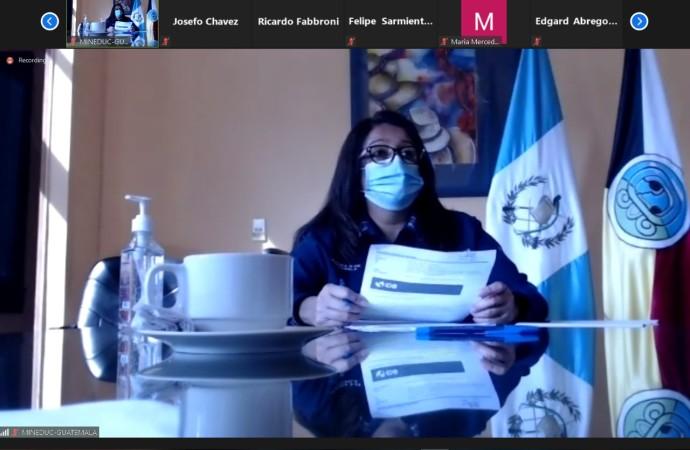 Ministra de Educación de Panamá se reúne con sus homólogos para intercambiar experiencias para el retorno a clases