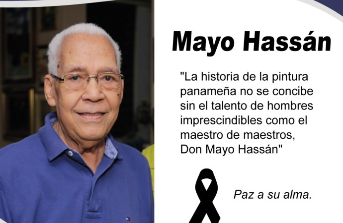 MiCultura reconoce contribución a la pintura nacional del maestro Mayo Hassán