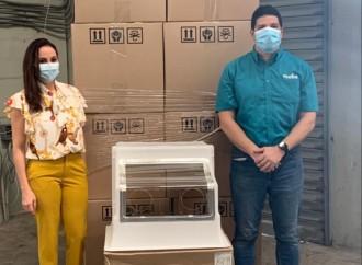 Mabe dona 360 Aerobox para la protección médicaal Gobierno de Panamá