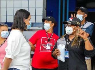 Ministra María Inés Castillo destaca la labor de los voluntarios de Panamá Solidario