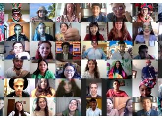 Jóvenes panameños comparten en el último Ciberencuentro Internacional de Scholas