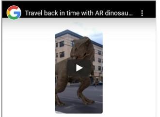 Los dinosaurios llegan al buscador de Google!