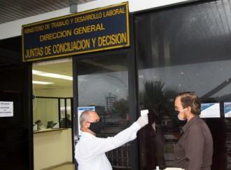 Dirección de Juntas de Conciliación y Decisión del Mitradel aplica medidas de prevención por el Covid-19